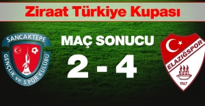 Elazığspor Sancaktepe Spor Karşılaşması