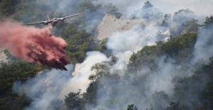 Fransa'da 460 Hektar Orman Kül Oldu