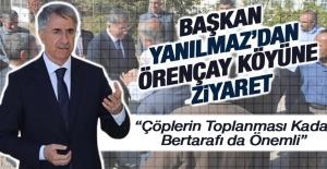 Başkan Yanılmaz'dan Örençay Köyüne Ziyaret