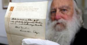 Einstein'in Mutluluk Formülleri Açık Arttırmayla Satıldı