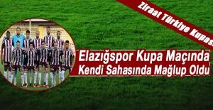 Elazığspor Kupa Maçında Kendi Sahasında Mağlup Oldu