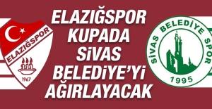 Elazığspor Kupada Sivas Belediye'yi Ağırlayacak