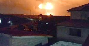 Gana'da Doğalgaz İstasyonunda Patlama