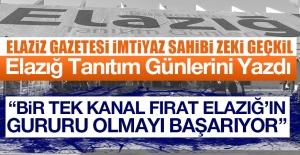 Gazeteci Geçkil'den Kanal Fırat'a Övgü Dolu Sözler