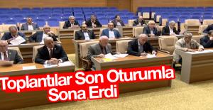 İl Genel Meclis Ekim Ayı Toplantıları Sona Erdi