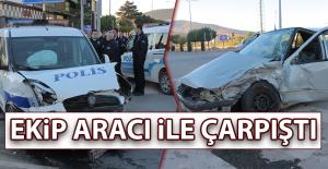 Malatya Caddesi'nde Kaza