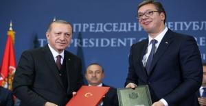 Sırbistan'la 12 Anlaşma İmzalandı
