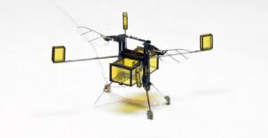Uçabilen Ve Yüzebilen Mini Robot