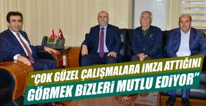 Başkan Dumandağ'dan Diyarbakır Valisine Ziyaret