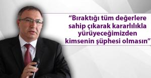 Cangül'den, 10 Kasım Mesajı