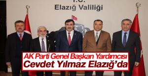 Cevdet Yılmaz Elazığ'da