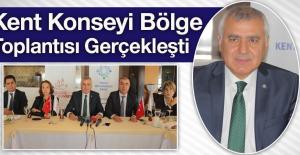 Elazığ'da, 'Kent Konseyi Bölge Toplantısı'