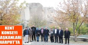 Kent Konseyi Başkanları Harput'ta