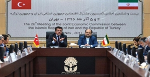 Türkiye-İran 26. Karma Ekonomik Toplantısı Tahran'da Yapıldı