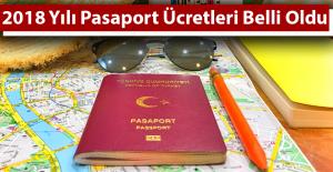 2018 Yılı Pasaport Ücretleri Ne Kadar?