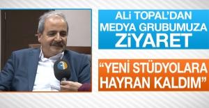 Ali Topal Medya Grubumuzu Ziyaret Etti