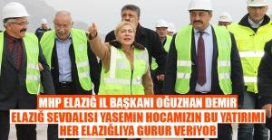MHP Heyeti Seza Çimento Fabrikasını Ziyaret Etti
