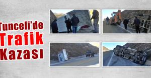 Tunceli'de Trafik Kazası