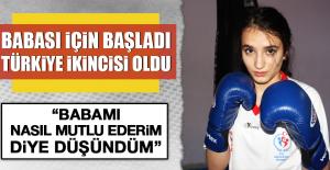 Babası İçin Başladı ve Türkiye İkincisi Oldu