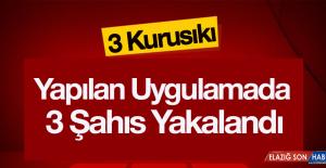 Diyarbakır'da Uygulamada Yakalananlar