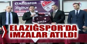 Elazığspor'da İmzalar Atıldı