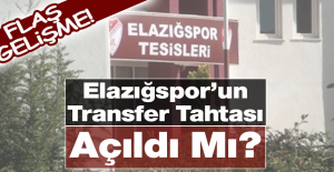 Elazığspor'un Transfer Tahtası Açıldı Mı?