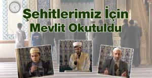 Nurullah Cami Derneği Tarafından Mevlit Okutuldu