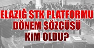 STK Platformu Yeni Dönem Sözcüsü Belli Oldu