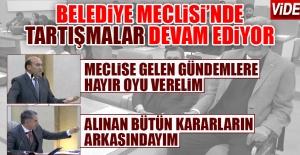 Elazığ Belediye Meclisi#039;nde...