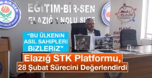 Elazığ STK Platformu 28 Şubat Sürecini Değerlendirdi