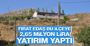 Fırat EDAŞ'tan 2,65 Milyon TL'lik Yatırım