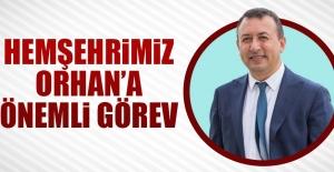 Hemşehrimiz Zafer Orhan'a Önemli Görev