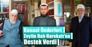 Kanaat Önderlerinden Zeytin Dalı Harekatına Destek!