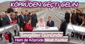 Şehit Mehmet Şevket Uzun Köprüsü#039;nde...