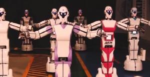 Yerli İnsansı Robotların 10 Parmağında 10 Marifet Var