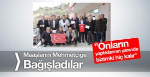 33 Köy ve Mahalle Muhtarı Maaşlarını Mehmetçik Vakfına Bağışladı