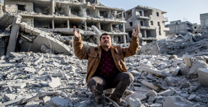 Afrin'de YPG/PKK'nın Bomba Tuzakladığı Binada Patlama