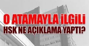 Atamayla İlgili HSK#039;dan Açıklama...