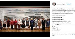 Emine Erdoğan İlk Instagram Paylaşımını Yaptı