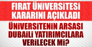 Fırat Üniversitesi Arsasını Verecek...