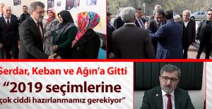 İHİK Başkanı Ömer Serdar, Partilileriyle Buluştu