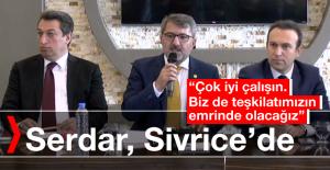 İHİK Başkanı Serdar, Sivrice'de Partililerle Buluştu