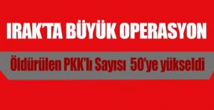Irak'ın Kuzeyinde 9 PKK'lı Öldürüldü