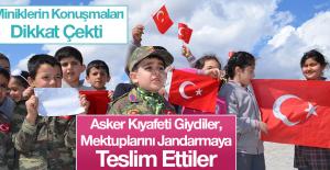 Kahraman Mehmetçiğe, Miniklerden Destek