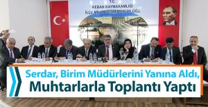 Keban'da Koordinasyon Toplantısı Gerçekleştirildi
