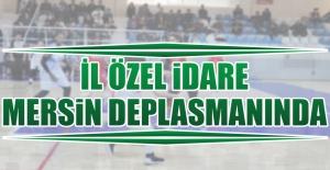 Mersin Gelişim-Özel İdare Maçı 14.00'de Başlayacak