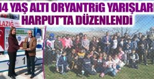 Oryantrig Yarışları, Elazığ'ın Ev Sahipliğinde Harput'ta Düzenlendi
