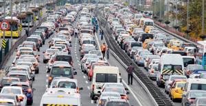 Trafikteki Araç Sayısı Ocak Ayında Arttı