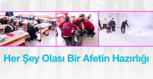 Yahya Kemal Beyatlı Anadolu Lisesi'ndeki, Tatbikat Gerçeği Aratmadı