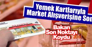 Yemek Kartlarıyla Market Alışverişine...